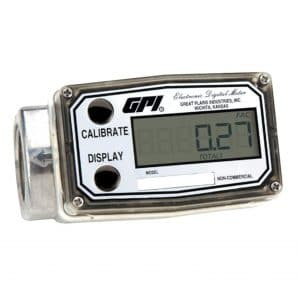 GPI 113900-9501 Turbine Fuel Flow Meter