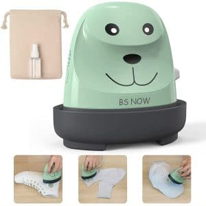 Mini Easy Heat Press - Portable Cute Puppy Heat Press Machine for T Shirts, Shoes and Hats, Pressing Machine for Heating Transfer Small HTV Vinyl Projects, Create DIY Family Shirt Printing