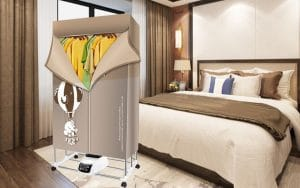 Image feature portable clothes dryers