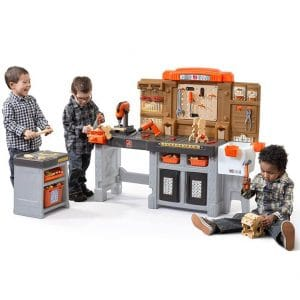 Step2 Pro Play Workshop and Utility Bench for Kids