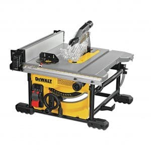DEWALT Table Saw for Jobsite 8 ¼ Inches