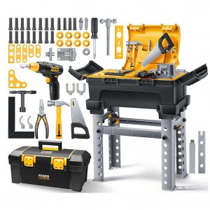 Geyiie Tool Set for Kids with 66 Pcs for Boys and Girls