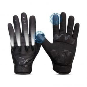 The Day Wolf LED Flashlight Touchscreen Rechargeable Gloves 3 LED Modes