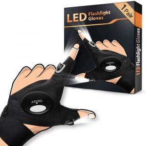 HANPURE LED Flashlight Gloves for Men Cool Tool Gadgets