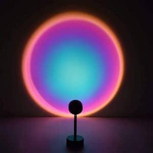 Lucakuins Night Light Projection LED Lamp Romantic LED Sunset Lamp