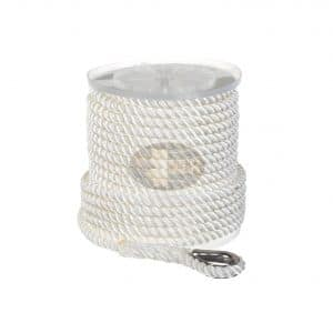 Maple Leaf Ropes Nylon 3 Strand 50Ft x 5 in 8-Inches