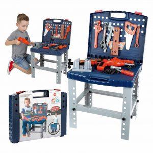 ToyVelt 68 Piece Workbench for Boys and Girls