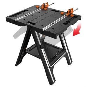 WORX Pegasus Multi-Functional Jobsite Rack with Quick Clamps