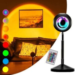 CORST Sunset Light Projector 16 Static with Remote Control