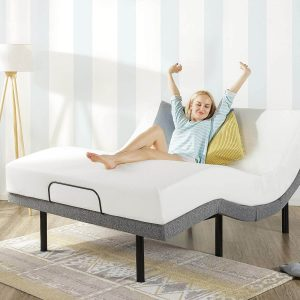 Mellow Adjustable Bed Base with Wireless Remote Control