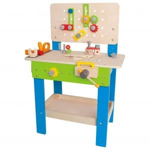 Hape Master Workbench, Height Adjustable Design