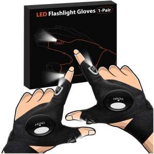 PARIGO Father's Day Gift LED Light Gloves