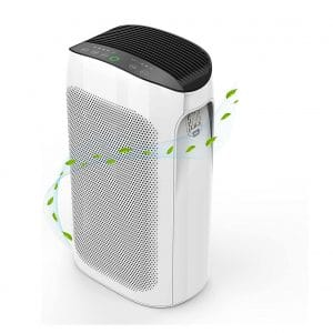 Air Choice Air Purifier for Home 495 Sq. Ft 3-In-1 Filtration System