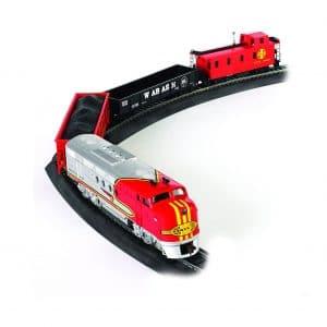 Bachmann Trains Santa Electric Toy Train Set