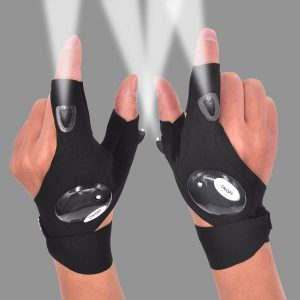 Mylivell LED Flashlight Glove Outdoor Fishing Gloves 1 Pair