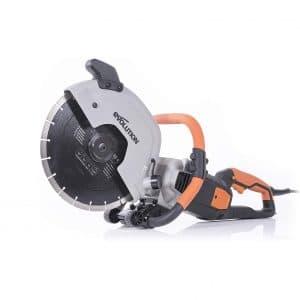 Evolution 12 Inches Concrete Saw 15A Motor 4 ½ Inch Cut
