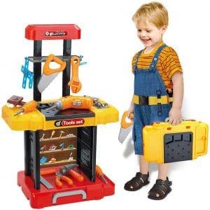 UNIH Kids Tool Bench, Indoor & Outdoor Use