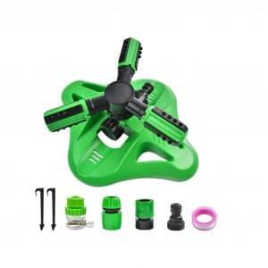 YUESEN Lawn 360 Degrees Oscillating Sprinkler