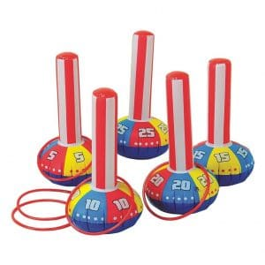 Happy Deals~ Inflatable Carnival Ring Toss Game