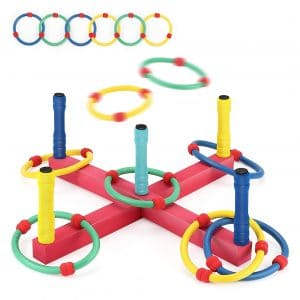 BEAURE Yard Ring Toss Game
