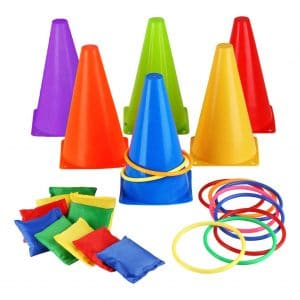 Eocolz 26 Pieces Ring Toss Games