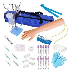 Kits of Medicine Phlebotomy Venipuncture Practice Kit for Nurse Student
