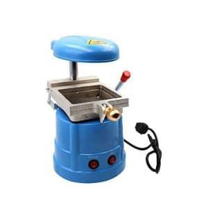 NSKI Dental Laminator Oral Material Small Dental Vacuum Molding Machine
