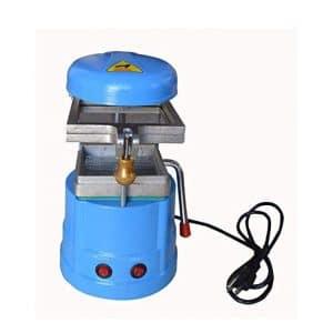 QWERTOUR 220V Lab Vacuum Forming Dental Instrument Molding Machine